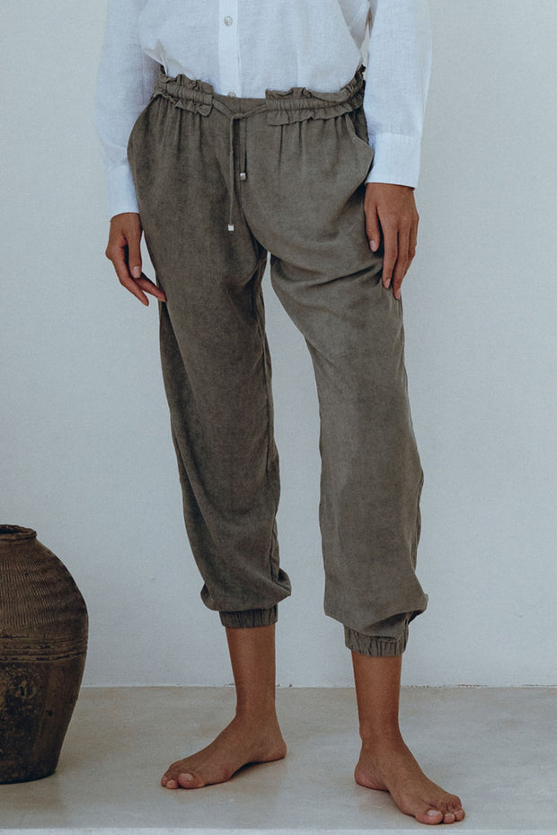 'Live Simply' Relaxed Pants