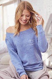 """All You Need Is Love"" Cozy Pullover"