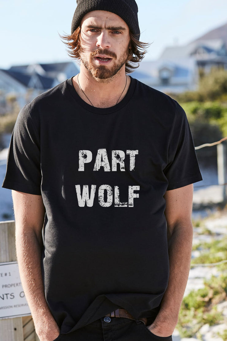 """Part Wolf"" Mens Tee"