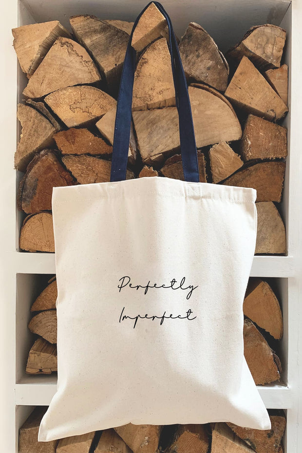 """Perfectly Imperfect"" Tote Bag"