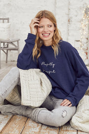 """Perfectly Imperfect"" Relaxed Sweater"