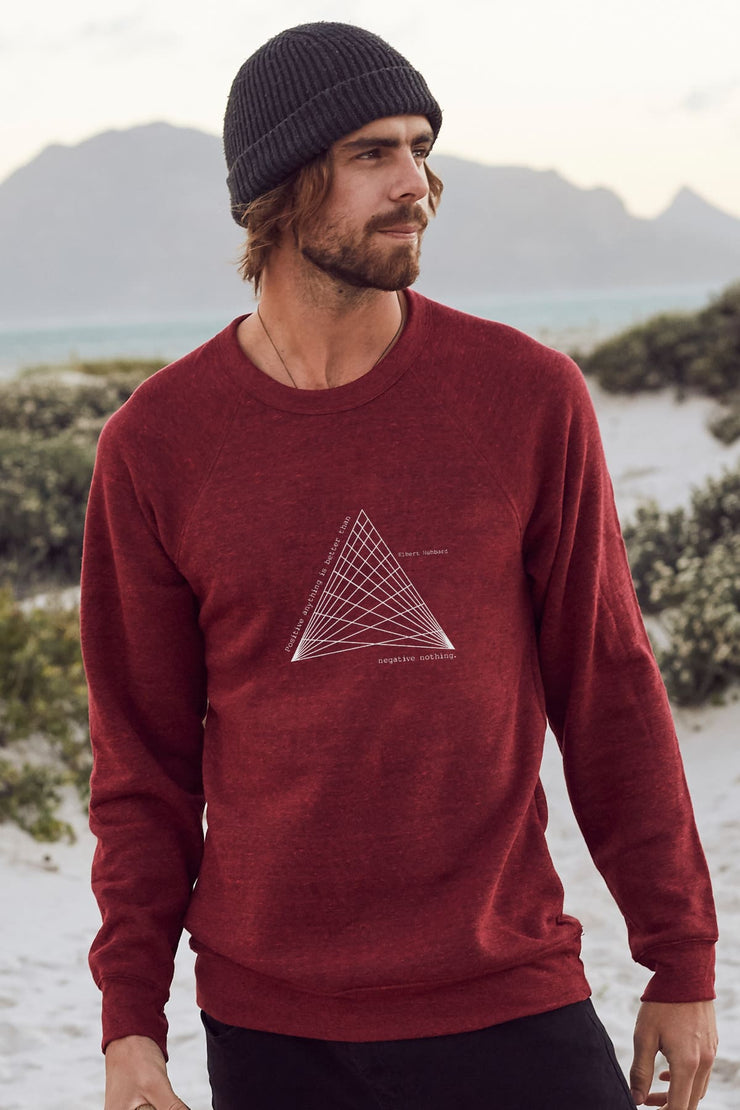 """Positive"" Mens Sweater"