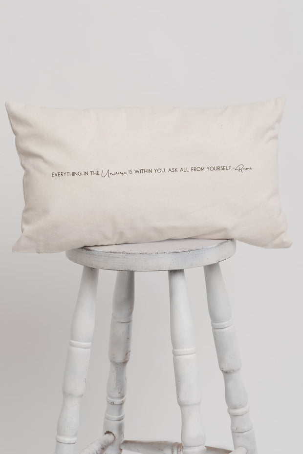 """Rumi"" Long Pillow"