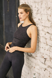 Smokey Quartz Premium Flex & Flow Yoga Tank