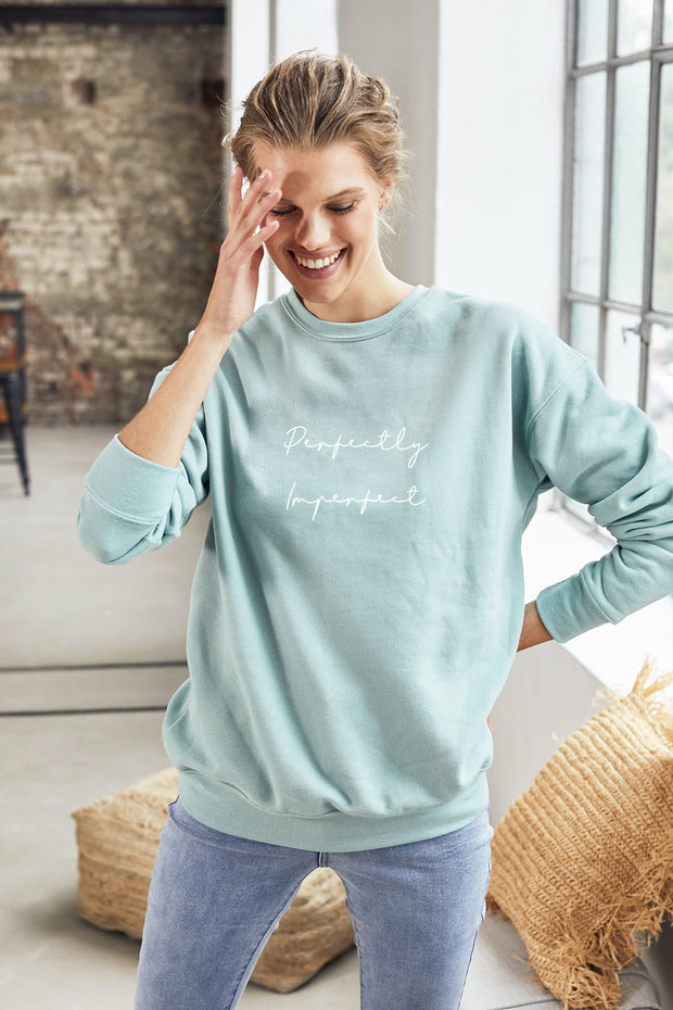 """Perfectly Imperfect"" Comforter Sweater"
