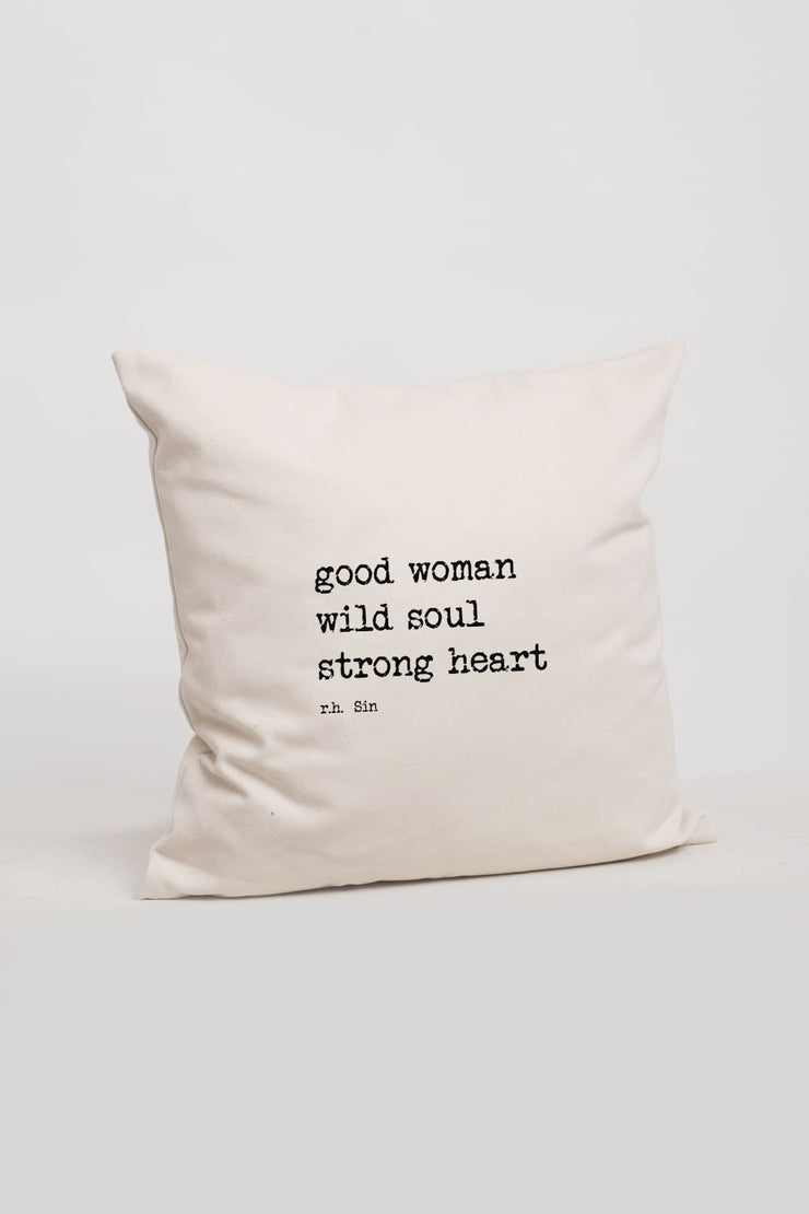 """Strong Heart"" Cushion Cover"