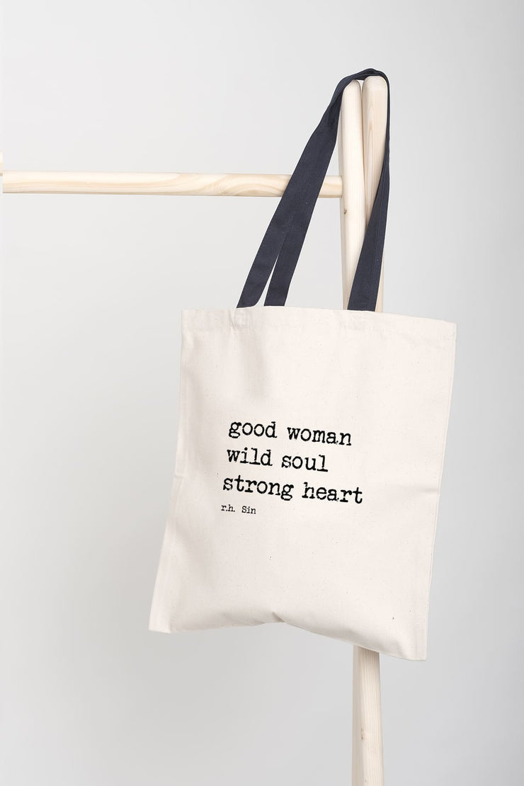 """Strong Heart"" Tote Bag"