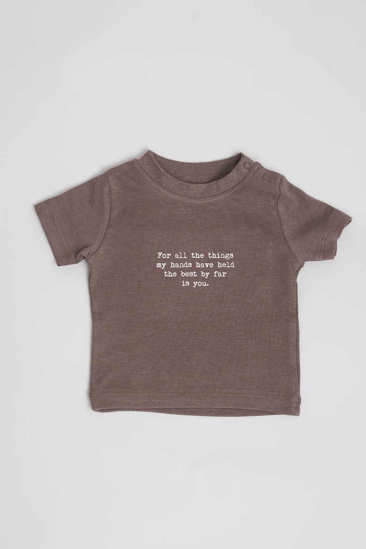 """You""  Cotton Baby Tee"