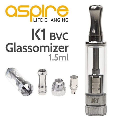 Aspire K1 Glassomizer/Tank (MTL)