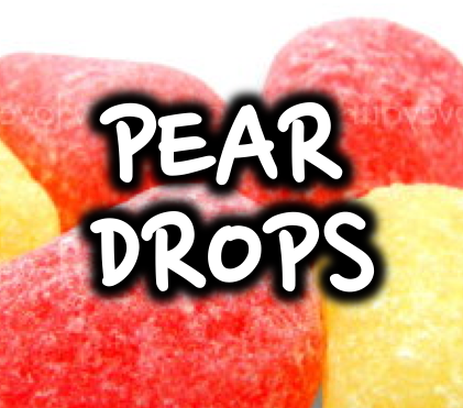 PEAR DROPS - 50/50 30ml