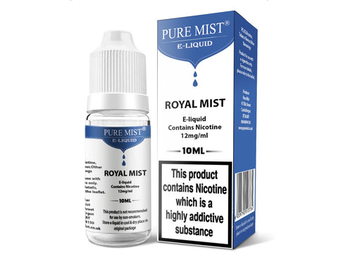 Puremist Royal Mist (Tobacco) Eliquid 10ml