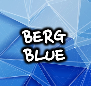 BERG BLUE - 50/50 120ml Mega Bottle