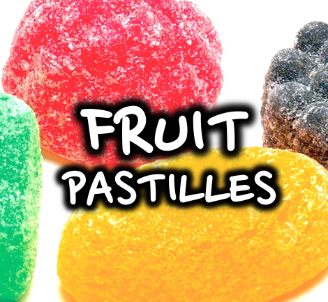 FRUIT PASTILLES - 50/50 120ml Mega Bottle