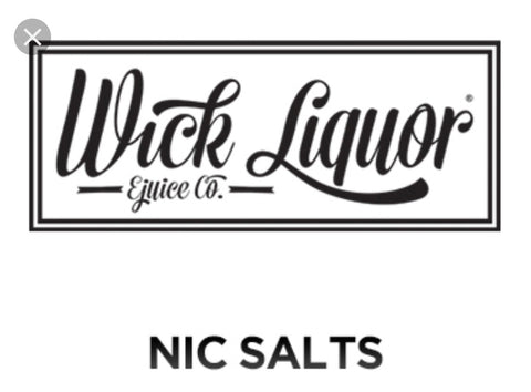 Wick Liquor Nic Salts Eliquid