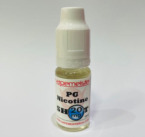 20mg Nicotine Shot - PG Base