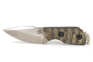 Tommy Knife® Alpha with Micarta Caveman Grip