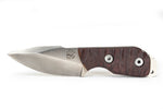 Tommy Knife® Alpha with Caveman Micarta Grip