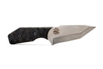 Tommy Knife® Bravo with Micarta Caveman Grip - Right Grind