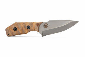 Tommy Knife® TK-B Pike Caveman Micarta Grip
