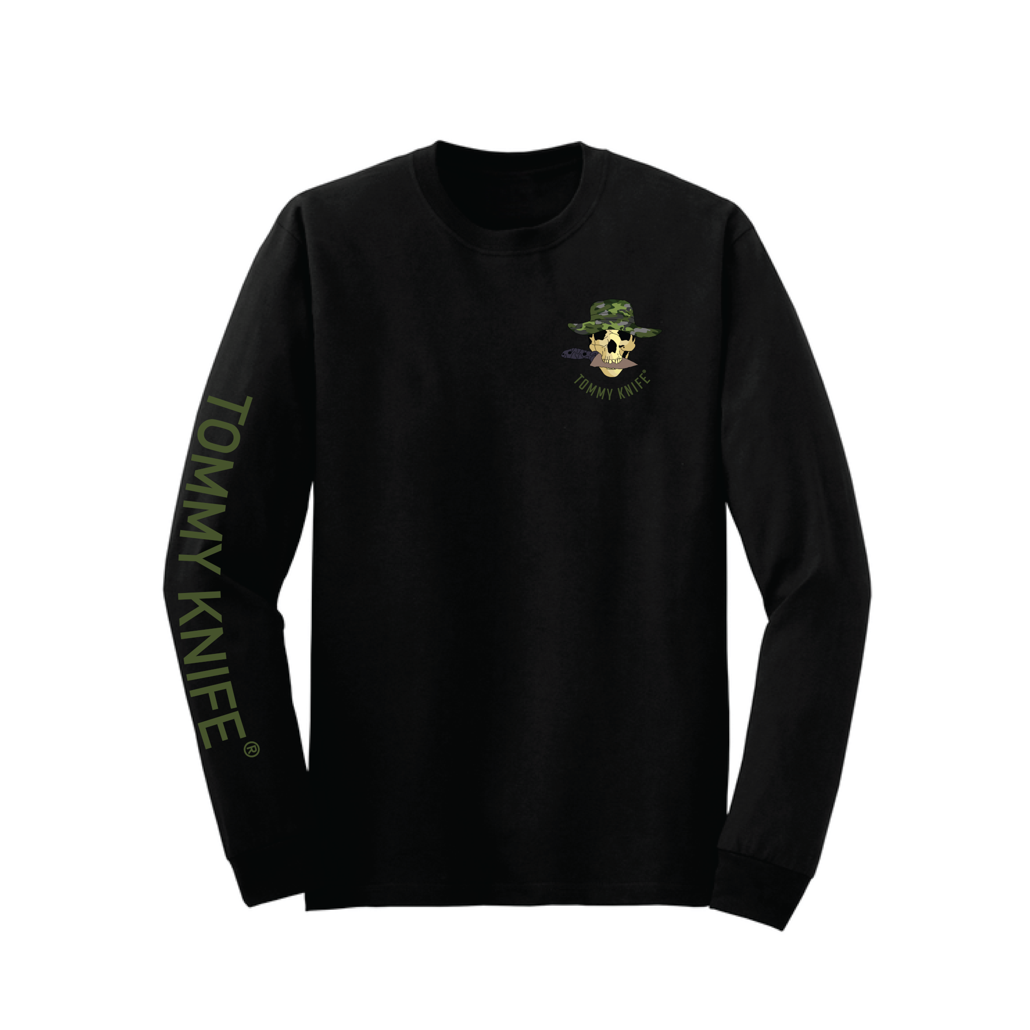 Tommy Knife® Black Long Sleeve