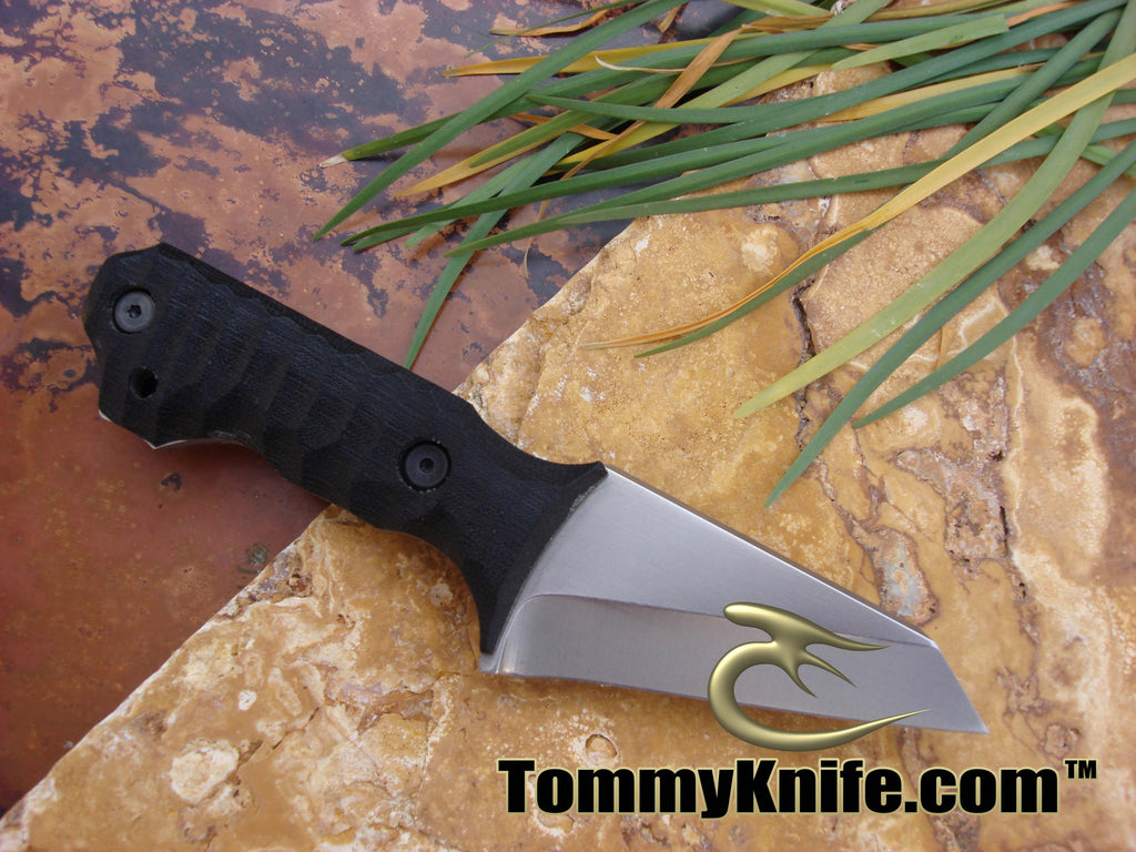 Tommy Knife Chopper CPM 3V Polished Knife