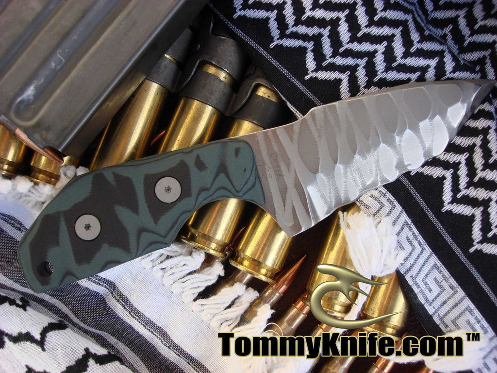 Tommy Knife Vengeance CPM 3V Sculpted Knife