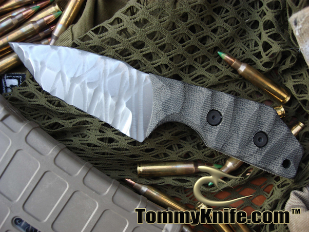 Tommy Knife Vengeance CPM 3VSculpted Knife