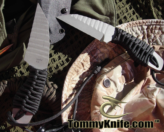 Tommy Knife Mini T's CPM 3V Sculpted Knives