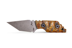 Tommy Knife® Charlie with Pakkawood Caveman Grip - Right Grind