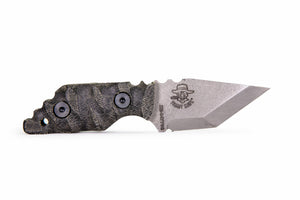 Tommy Knife® Charlie with Micarta Caveman Grip - Right Hand Grind