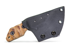 Tommy Knife® TK-C with Micarta Caveman Grip