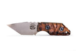 Tommy Knife® Charlie with Koa Wood Caveman Grip - Right Grind