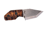 Tommy Knife® Delta with Koa Wood Caveman Grip - Right Grind