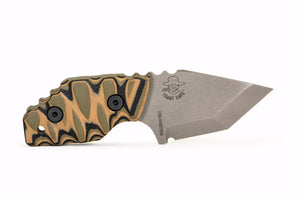 Tommy Knife® Delta with G10 Caveman Grip - Right Grind