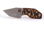 Tommy Knife® TK-D with Layered Wood & G10 Caveman Grip