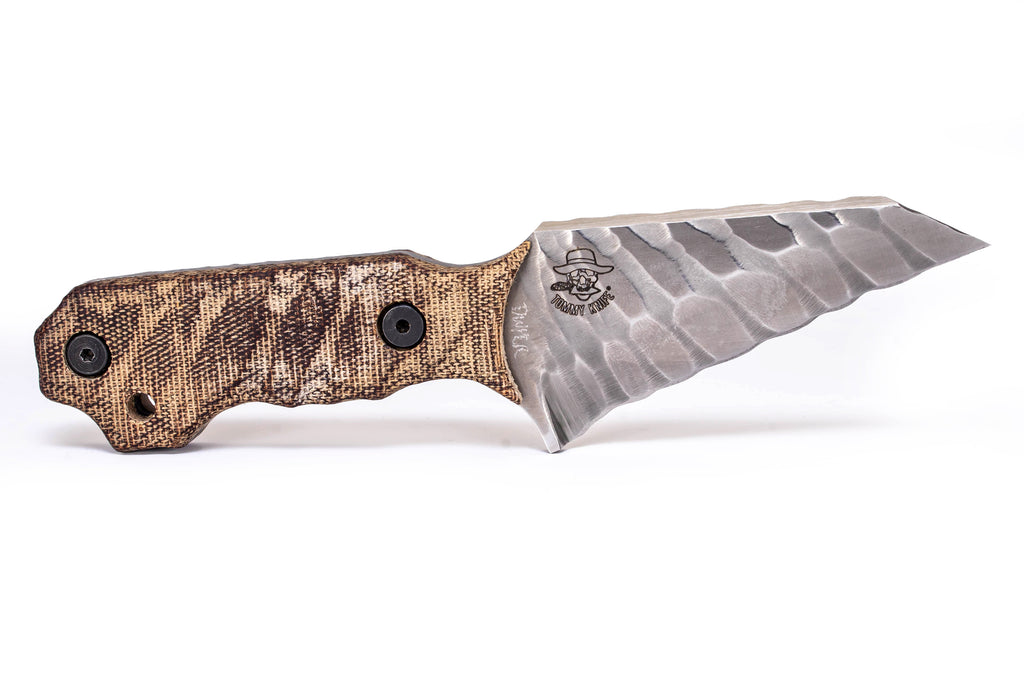 Tommy Knife® Golf - Sculpted Blade with Micarta Grip - Right Grind