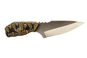Tommy Knife® Bravo with G10 Caveman Grip