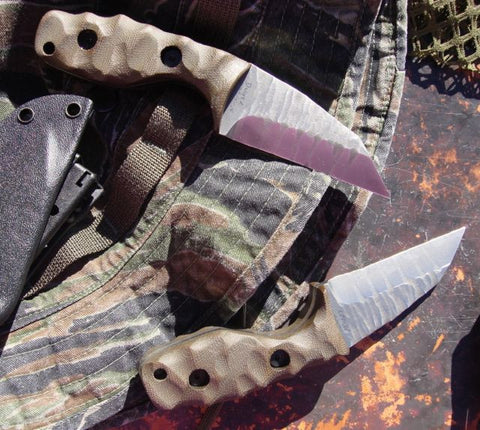 Tommy Knife Mini T CPM 3V Sculpted Knives