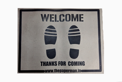 Products Tagged Printed Paper Foot Matt The Paperman