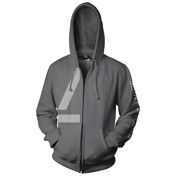 Saint Asonia Charcoal Hooded Sweatshirt