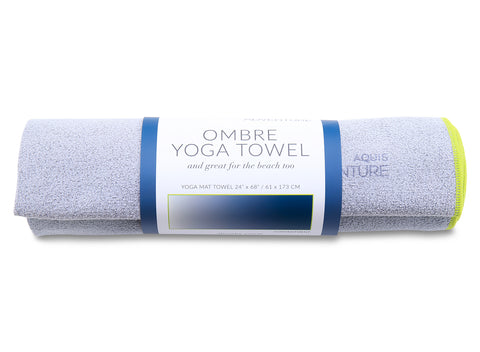 Ombre Yoga & Beach Towel