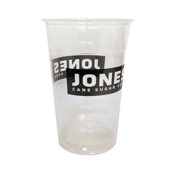 Compostable Clear Logo Cups - 1000 Count