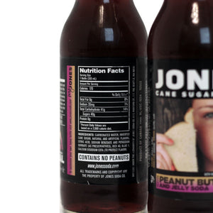 12-pack of JONES Peanut Butter & Jelly Soda