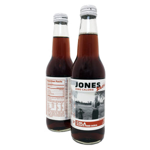 12-pack of JONES Sugar Free Cola