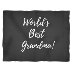 World's Best Grandma Blanket