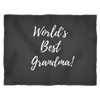 Image of World's Best Grandma Blanket