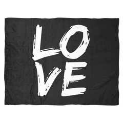 LOVE - B&W Blanket