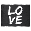 Image of LOVE - B&W Blanket