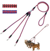 Image of Triple Dog Lead Leash