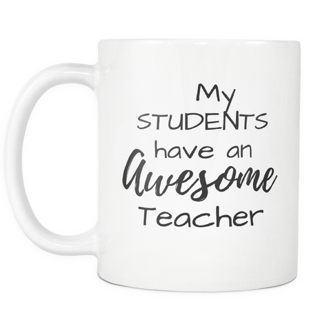 Awesome Teacher Mug